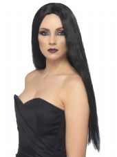 Halloween Witch Wig In Black